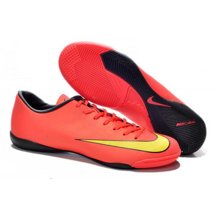 Футзалки Nike mercurial, красный